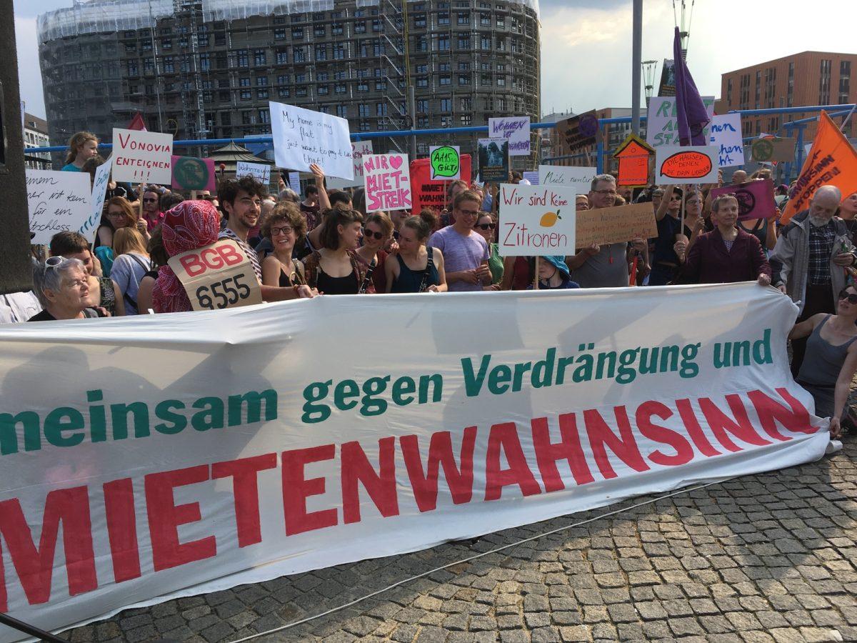 500 Menschen beim Aktionstag in Dresden am 6. April 2019