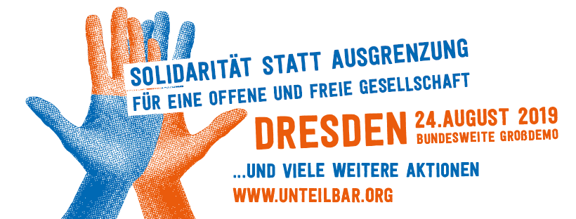 Gemeinsam gegen Verdrängung und #Mietenwahnsinn bei #unteilbar am 24.8.