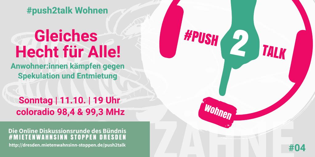 #push2talk Wohnen #4: Gleiches Hecht für Alle!