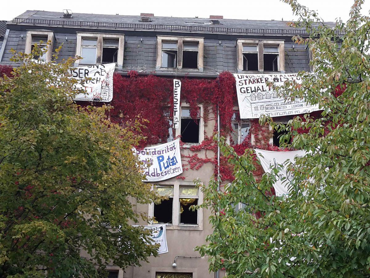 Solidarität mit der Besetzung in der Schanzenstraße