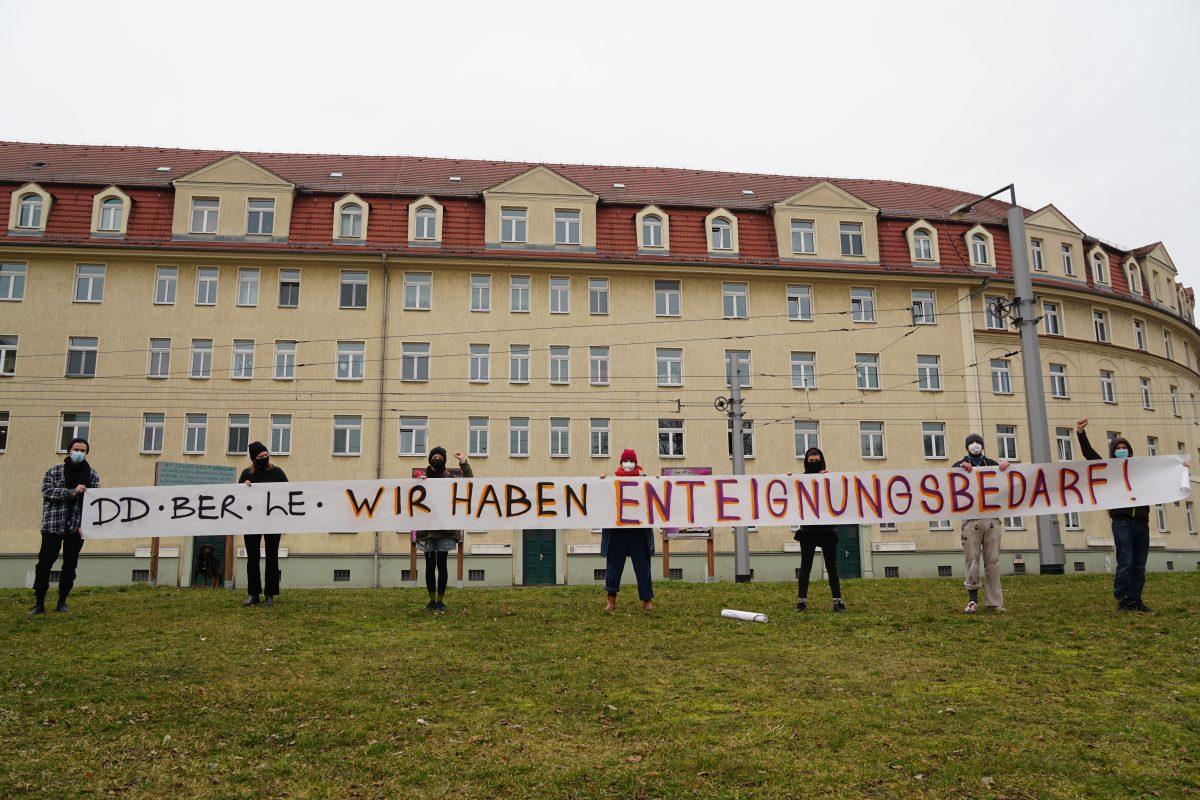 """Soli mit """"Deutsche Wohnen und Co. Enteignen!"""""""