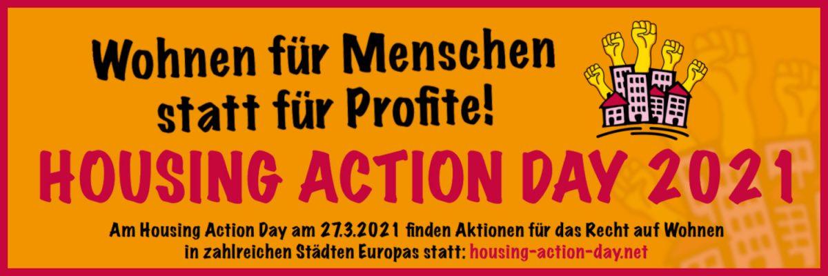 Aufruf zum Housing Action Day am 27.03.2021