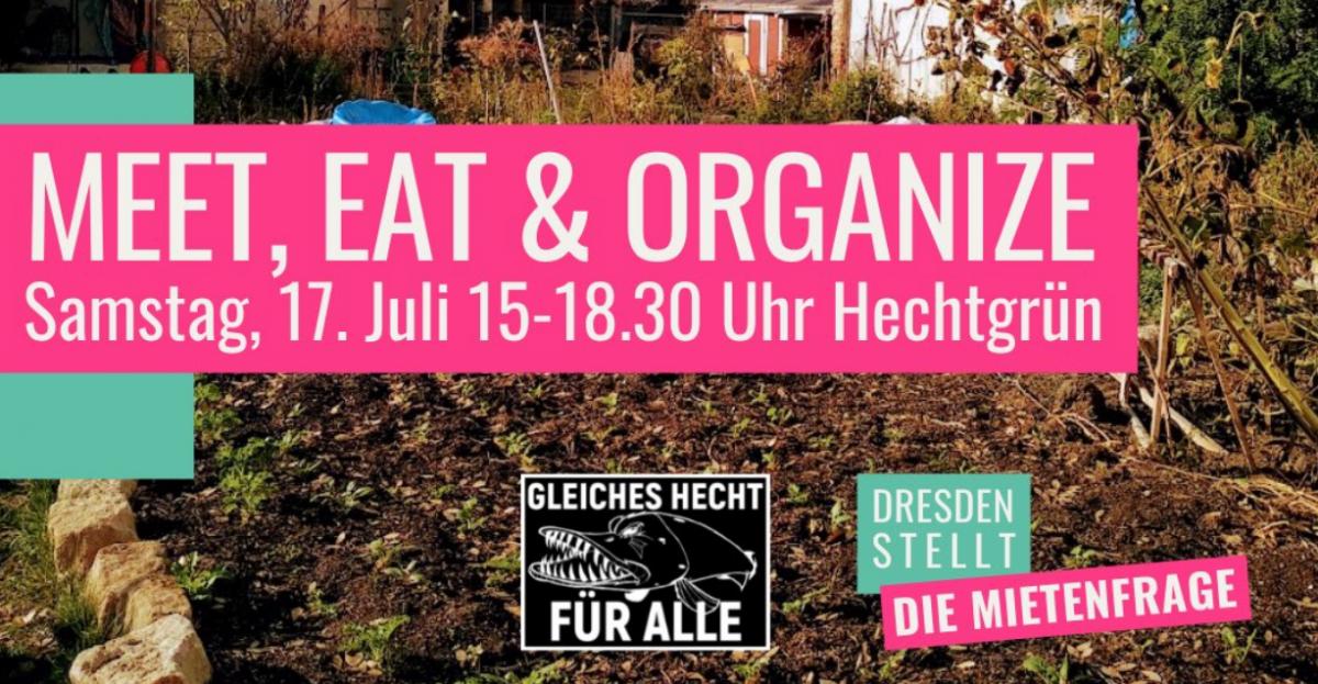 Einladung zum gemeinsamen Organize!-Hecht-Picknick am Sa, 17.07 // 15 Uhr